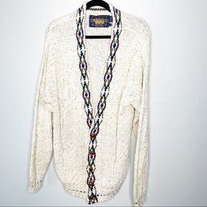 Vintages Ralph Lauren Cotton Dad Sweater Cardigan